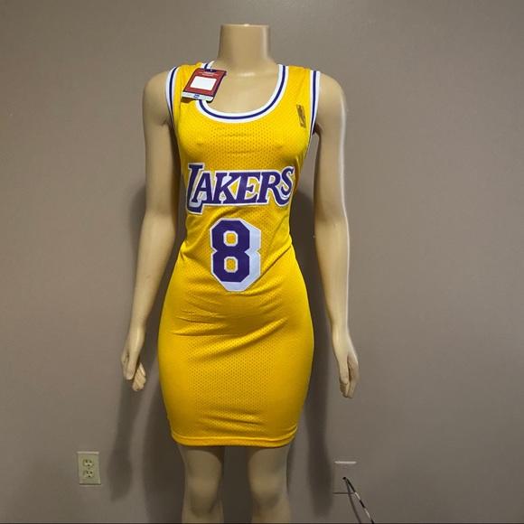 NEW Kobe Lakers Jersey Dress #8